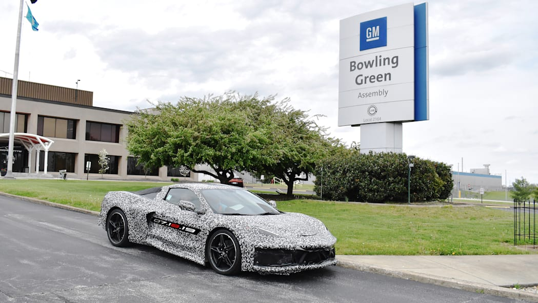 GM Chevrolet Corvette C8 Bowling Green Assembly