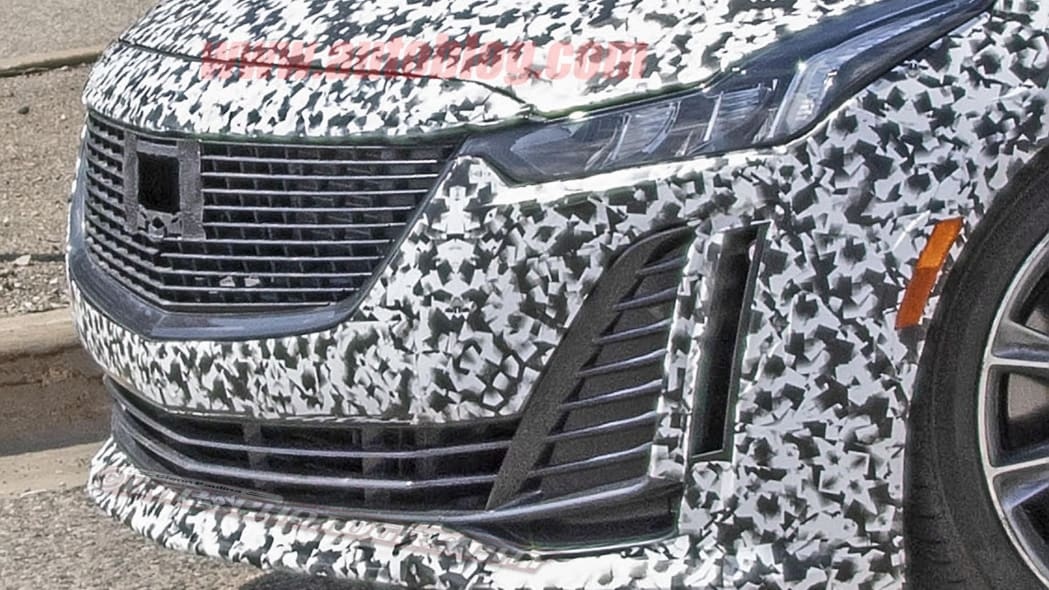 Cadillac CT5 spied with quad exhaust