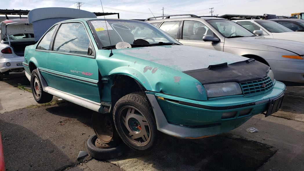 Junked 1990 Chevrolet Beretta Indy