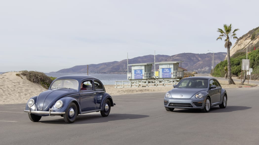 "Historical Beetle and Volkswagen Beetle ""Final Edition"""
