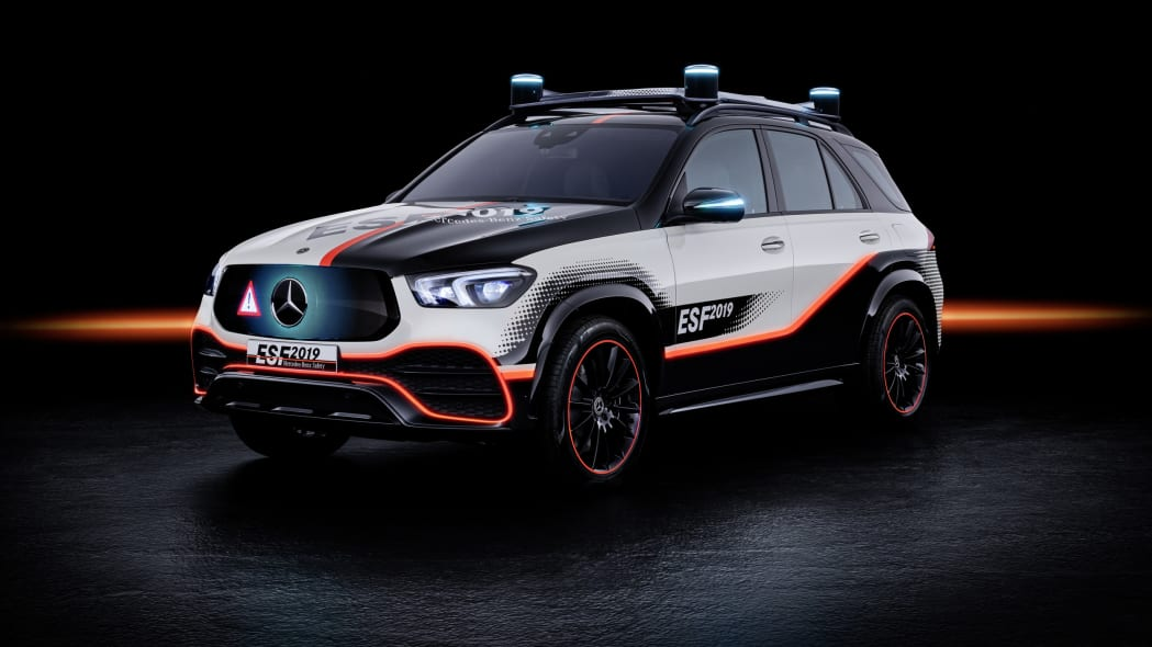 Mercedes-Benz GLE becomes latest Experimental Safety Vehicle 2019