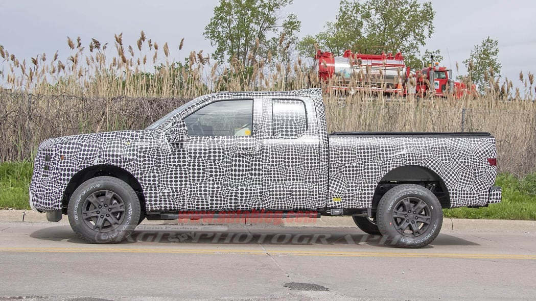 2021 Ford F-150 Super Cab spied for the first time