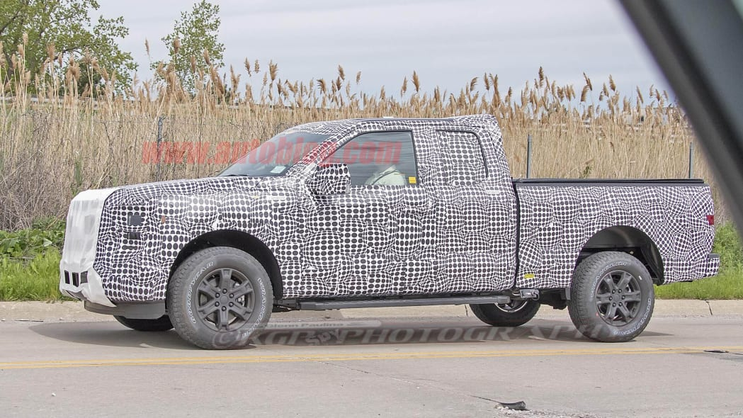 2021 Ford F-150 spied
