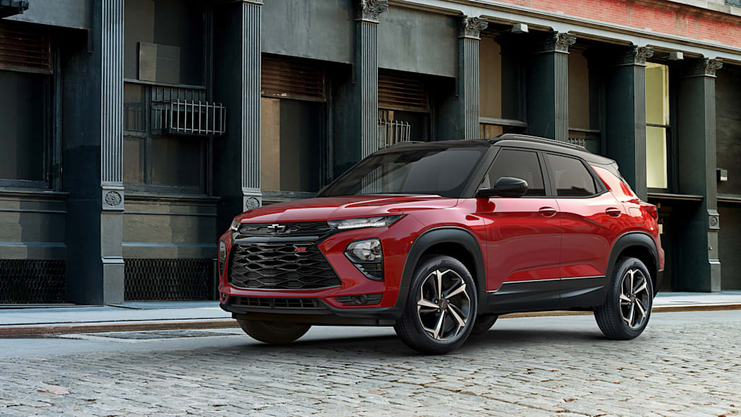 2021 Chevy Trailblazer is revealed as the Blazer's little sibling