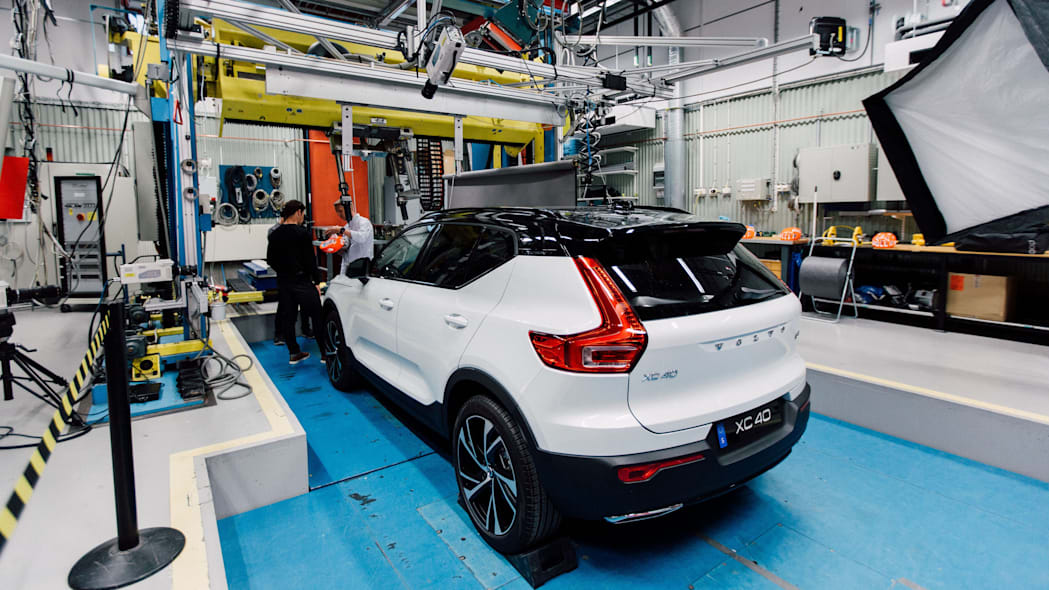 Volvo and POC crash testing