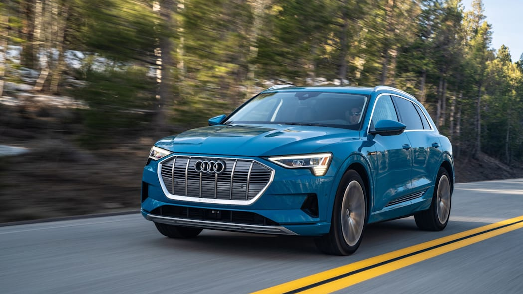 Audi squeezes more driving range from the E-Tron's powertrain