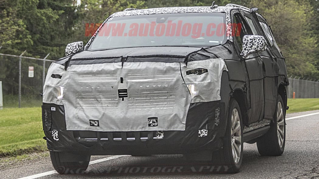 2020 Chevy Tahoe High Country spied along with next-gen Escalade