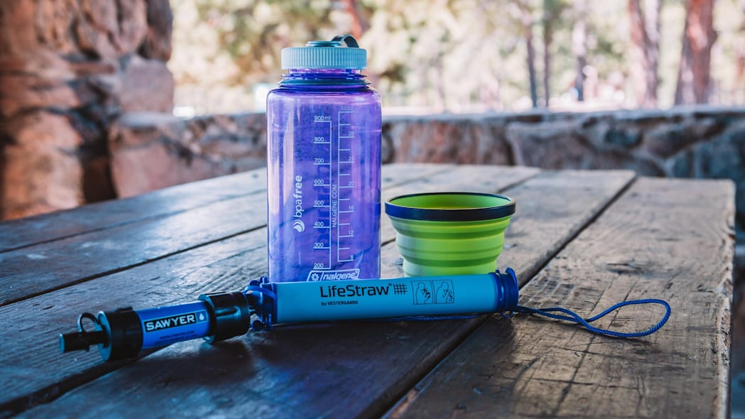 Summer Car Camping Gear - Nalgene