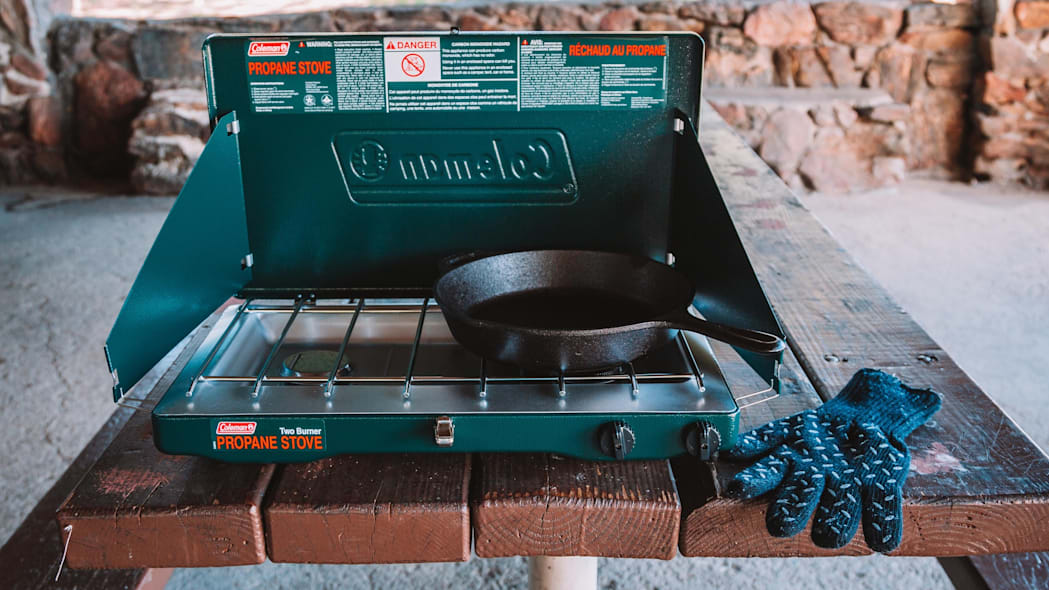 Summer Car Camping Gear - Stove