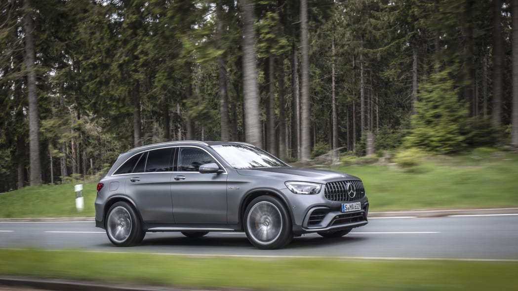 2020 Mercedes-AMG GLC 63 First Drive | Same power, more ways to enjoy it