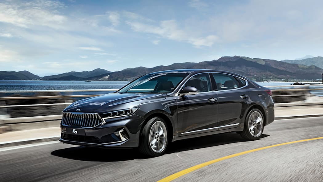 2020 Kia Cadenza shows its new face in mid-cycle refresh
