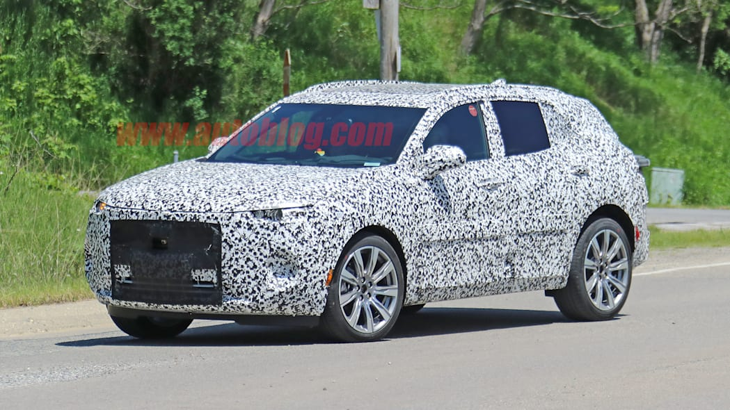 Buick Enspire spied for the first time, loses concept's electric powertrain