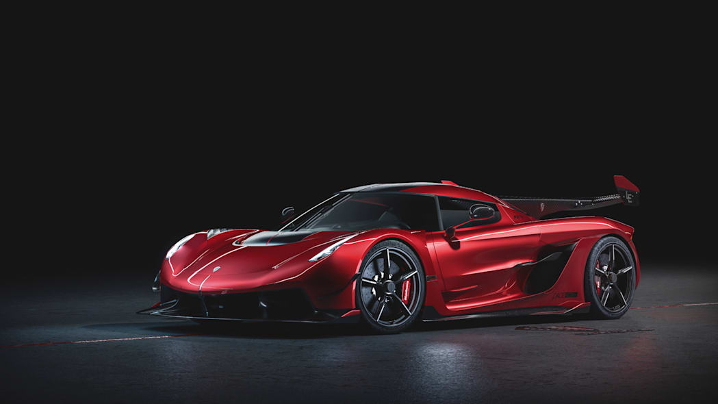 Koenigsegg Jesko Red Cherry Edition blossoms in mouth-watering photo shoot