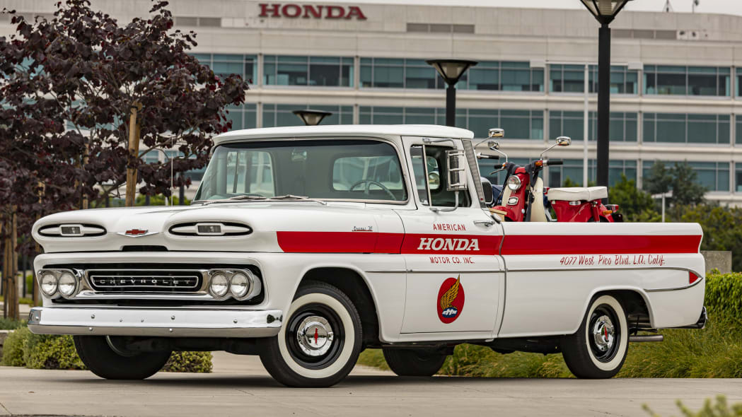 Honda restores an important part of its history: a 1961 Chevy Apache
