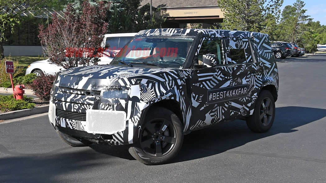 2020 Land Rover Defender prototype