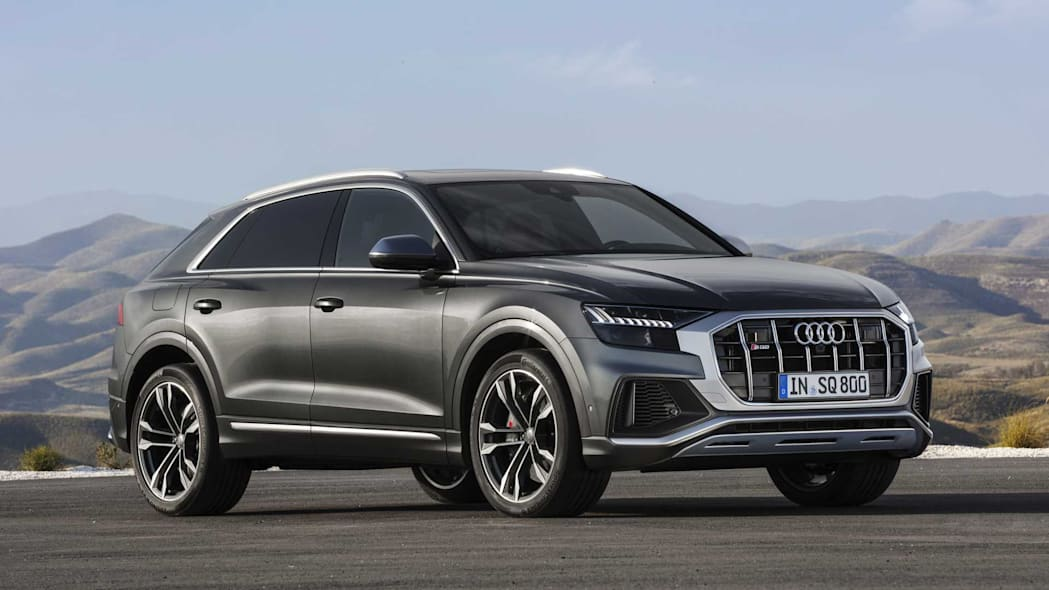 Audi SQ8 TDI puts 429 hp and 664 lb-ft in a svelte package