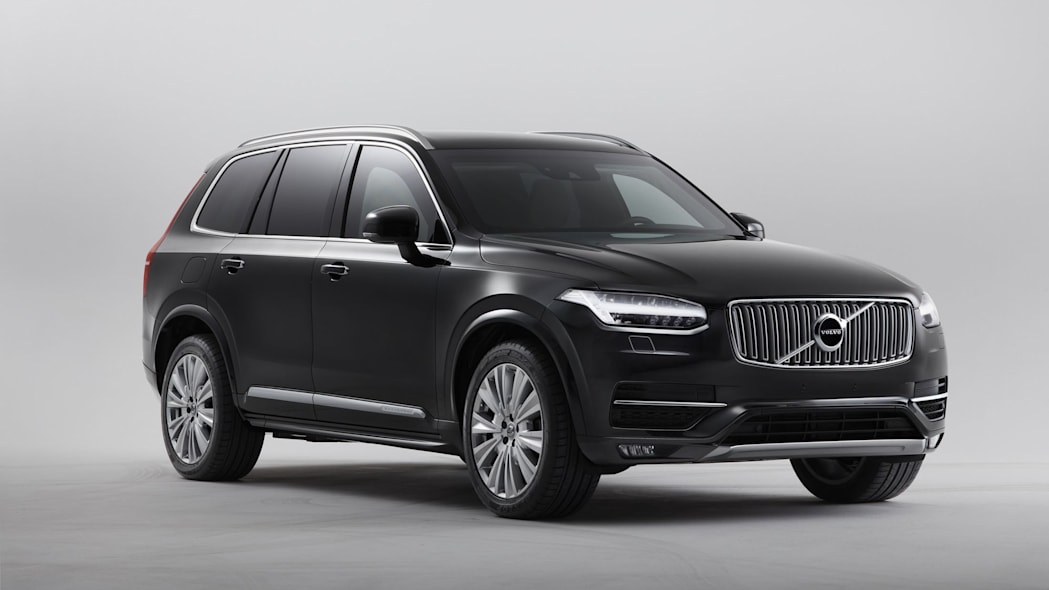 The Volvo XC90 Armored is a 10,000-pound bullet-stopping family SUV