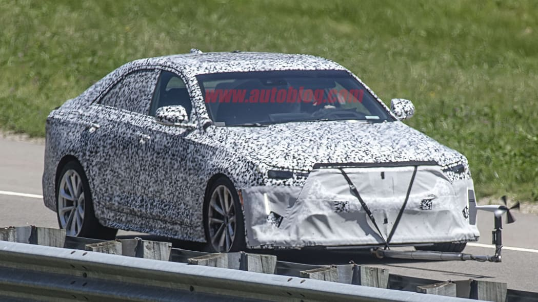 Hotter Cadillac CT4-V spied