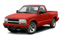 2000 chevy s10 extended cab bed dimensions