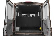 2019 Ford Transit-150 XLT w/Sliding Pass-Side Cargo Door Medium Roof  Passenger Van 129 9 in  WB Information