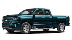 (Silverado Custom) 4x2 Double Cab 6.6 ft. box 143.5 in. WB