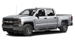(Silverado Custom) 4x2 Crew Cab 6.6 ft. box 153 in. WB