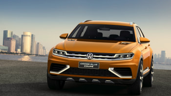 Does VW's updated CrossBlue Coupe hint at production? | Autoblog