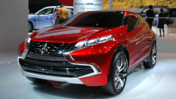 mitsubishi xr-phev concept is a chronicle of an outlander sport