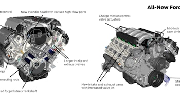 [SODI_2457]   Ford dissects the heart of the 2015 Mustang, its engine range | Autoblog | 2015 Mustang Engine Diagram |  | Autoblog