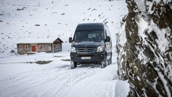 Mercedes-Benz Sprinter gets 4x4 variant for all-weather