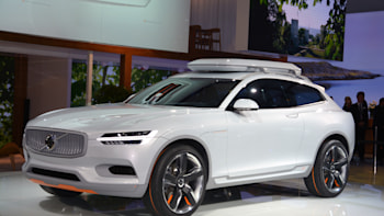 Volvo Concept Xc Coupe Is Ready To Hit The Slopes Autoblog