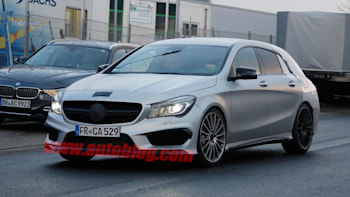 Mercedes Benz Cla45 Amg Gets Its Shooting Brake On Autoblog