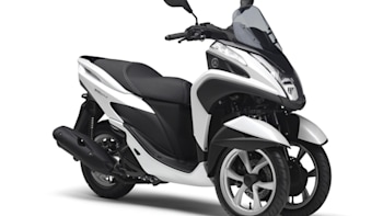 Yamaha debuts Tricity 3-wheel scooter [w/video]   Autoblog