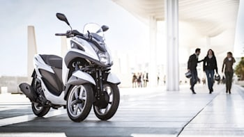 Yamaha debuts Tricity 3-wheel scooter [w/video] | Autoblog