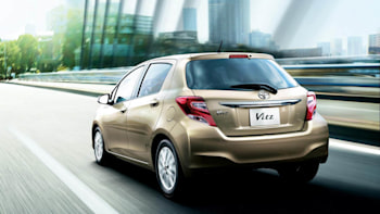 Toyota launches updated Yaris in Europe, Vitz in Japan [w