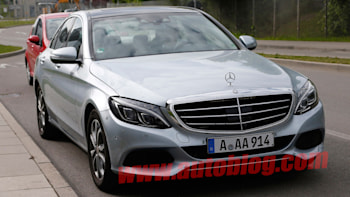 Mercedes Testing C Class Plug In Hybrid Modes In Germany Autoblog