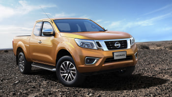 Nissan Reveals Np300 Navara Pickup Is It The Next Frontier