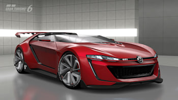 Vw Gti Roadster Vision Gran Turismo Hits The Small Screen W Video