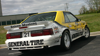 Ebay Find Of The Day 1988 Saleen Ford Mustang General Tire 21r Race Car Autoblog