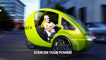 Egg-shaped, solar- and pedal-powered $5,500 ELF eco-trike on the way on car electric volkswagen, car electric chrysler, car battery cart, car electric fan, car electric car, car electric chevrolet,