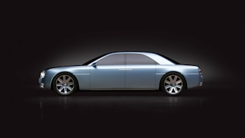 2002 Lincoln Continental Concept Should Ve Made Production Headed