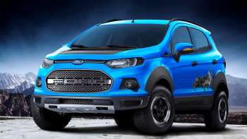 Ford Ecosport Storm Concept Swallows A Raptor In Sao Paulo Autoblog