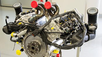 This Is The Best Look You Ll Ever Get Of 4 6 Liter Race Bred V8 That S Porsche 918 Fully Embled And Waiting For Its Turn On