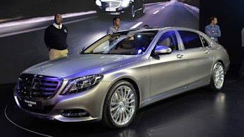 2016 Mercedes Maybach S600 Is A Silver Arrow Aimed At Bentley W Video