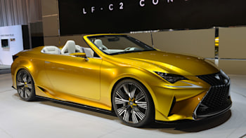 Lexus LF-C2 Concept shows polarizing looks are here to stay - Autoblog