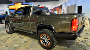 Chevrolet Colorado ZR2 concept suggests a diesel off-road