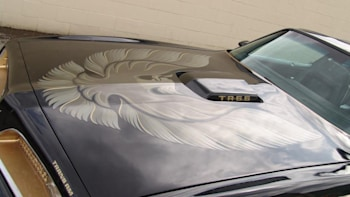 Burt Reynolds' personal 1977 Trans-Am from Smokey And The