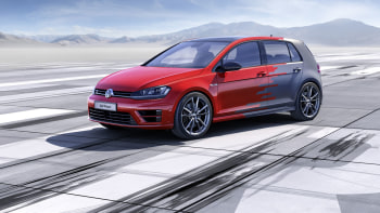 VW previews huge screens, gesture control with Golf R Touch Concept