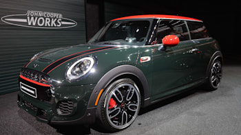 John Cooper Works Mini Rolls Into Detroit Asks Gti Who Autoblog