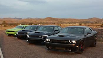 Highway To Hellcat Dallas To Vegas With 2 000 Hp Autoblog